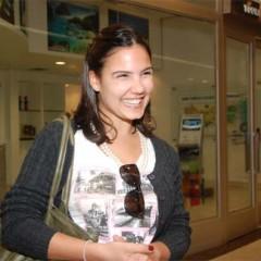 Rayana Carvalho desembarca no Recife