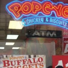 Popeyes: um dos meus preferidos nos Estados Unidos