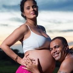 Nasce filho de Luciele Di Camargo e Denílson de Oliveira