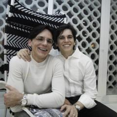 3850e1822d975 Turíbio e Zezinho Santos armam jantar para Romero Britto