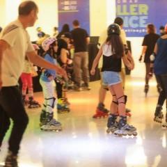 Pista de patinação volta para nova temporada no Shopping RioMar