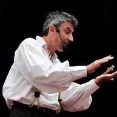 O francês  Eric Chartiot vai apresentar espetáculo no colégio Santa Maria da Reserva do Paiva