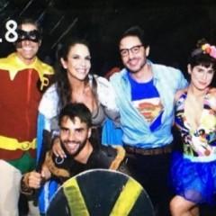 Ivete Sangalo comemorou seus 45 anos com festa a fantasia