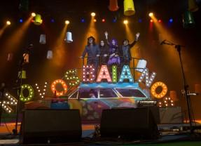 Os Novos Baianos fazem show no Recife
