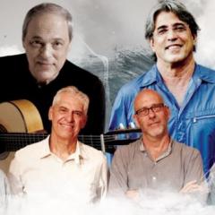 Toquinho comemora 50 anos de carreira com Ivan Lins e MPB4 no Teatro Guararapes