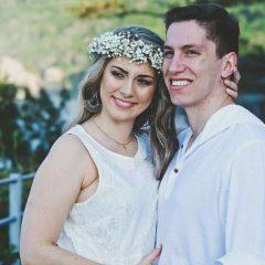 O casamento de um sobrevivente da tragédia da Chapecoense