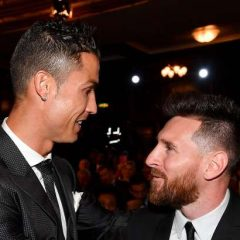O bom relacionamento de Messi e Cristiano Ronaldo