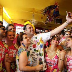 Os selfies do governador