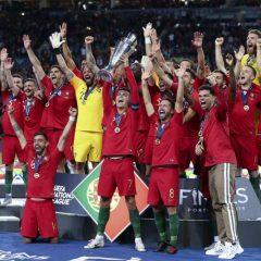No Porto no dia em que Portugal ganhou a Taça das Nações