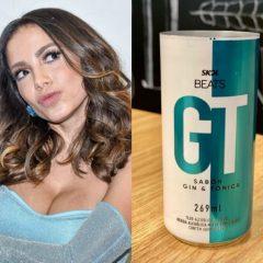 Anitta lança nova bebida com sabor de Gin Tônica
