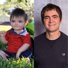 Bebê chama atenção na internet por semelhança com Samuel Rosa