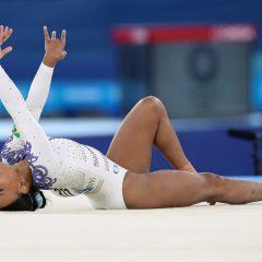 Ginasta Rebeca Andrade leva Baile de Favela às Olimpíadas de Tóquio