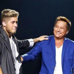 """Leonardo completa 58 anos e Zé Felipe o homenageia: """"Que eu possa ser o pai que você é"""""""