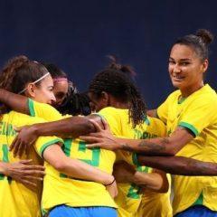 Olimpíadas: Brasil vence Zâmbia no futebol feminino e é classificado para as quartas de final