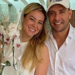 Paolla Oliveira e Diogo Nogueira negam rumores de união estável