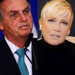 """""""Se você apoia Xuxa, peço que nos siga"""", rebate Bolsonaro após críticas"""