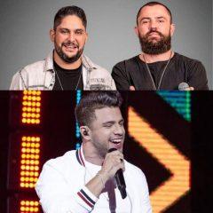 Jorge & Mateus e Avine Vinny se apresentam amanhã no Recife