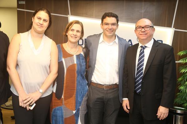 Reijane Assis, Jurema Telles, Bruno Miranda e Jailson Correa