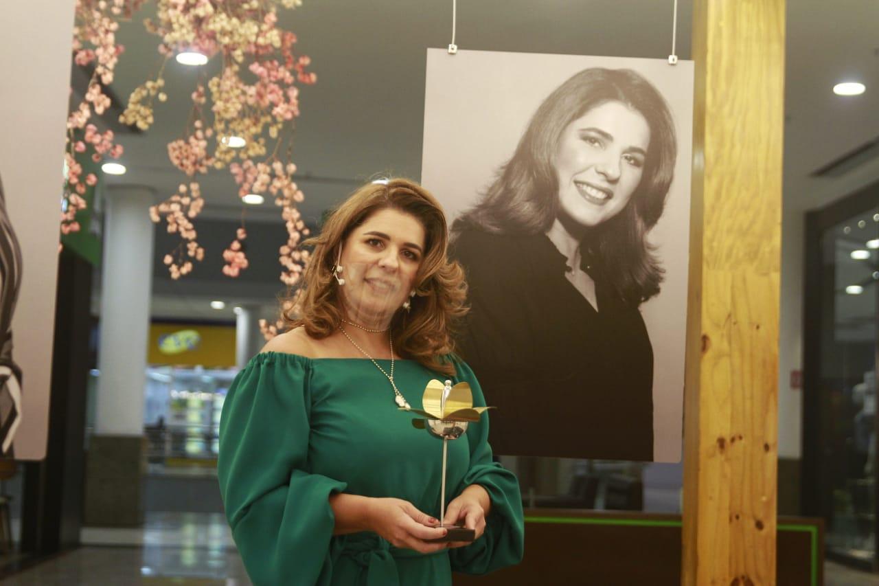 Dra. Mariana Vargas, vencedora na categoria Atividades Jurídicas (Foto: Romulo Chico/Esp.DP)