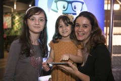 Regina Dias, do Dicas Miúdas, foi bem acompanhada  (Copy)