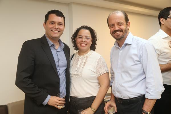 Hélio Calábria, Andrea Abdo, Luiz Henrique Albuquerque