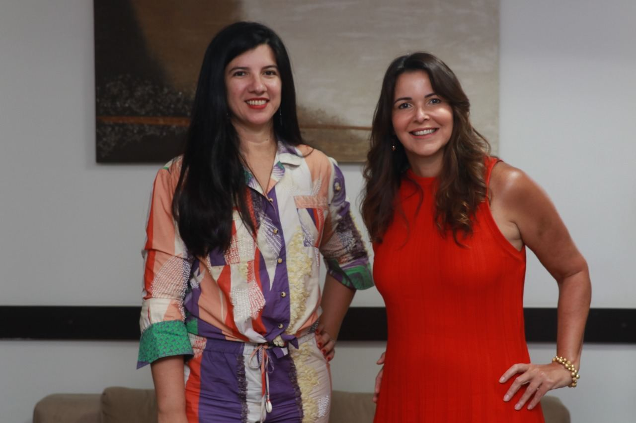 Úrsula Fontes e Luiza Nogueira