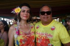 Flávia Galvão e Jorge Moraes. Foto: Roberto Ramos/DP