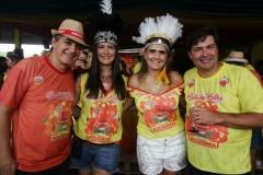 Carlos Augusto Gusmão, Paola Freitas, Ana Paula Perez e Luiz Perez. Foto: Roberto Ramos/DP