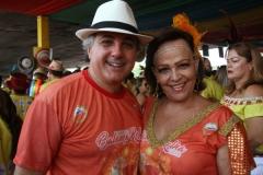 Marcus Sampaio e Marta. Foto: Roberto Ramos/DP