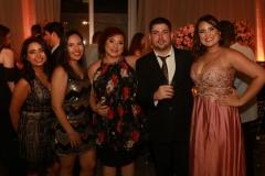Camila Silva, Nayara Rodrigues, Regina Araújo, Leonardo Pontes e Rayane Moura
