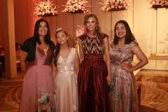Laysse Marques, Sônia Lemos, Maria Vitória Pimentel e Marília Lemos