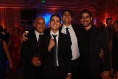 Paulo Roberto, Lucas Miguel, Paulo Felipe e Henrique Gabriel