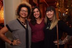 Lala K, Andréa Tom e Allana Marques - Crédito: Roberto Ramos/DP