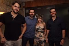 Beto Mergulhão, Rafael Amaral, Fran Menegotto e Thiago Regis - Crédito: Roberto Ramos/DP