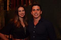 Daniel Asfora e Gabriela Maranhão - Crédito: Roberto Ramos/DP