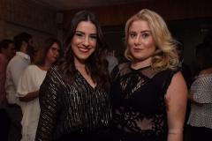 Giovanna Zirpoli e Bárbara Andrade - Crédito: Roberto Ramos/DP