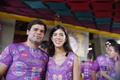 Rodrigo Borba e Polyana Goncalves