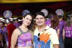 Sonalle Tavares e Alexandre Venancio