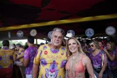 Andre Campos e Virginia Campos