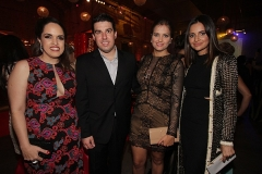Rapha Torres, Gilberto Miranda, Lidiane e Rebeka Guerra.