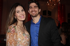 Ana Carolina Campolina e Pablo Maricevich.