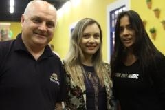 Evandro Giacobbo, Ana Paula Matos e Nohara Franco