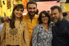 Helena Aguiar, Renata Mota e Fenelon Moreira