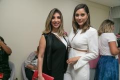 Gabriela Percínio e Vanessa Tinoco
