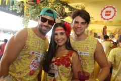 André Maranhão, Carolina Romeiro e Daniel Santiago