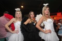 Layla Santos, Monique Costa e Manuela Marcal