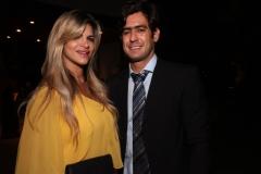 Livia Saihg e Rodrigo Franca.