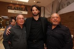 Carlos Alberto Campelo, Andre Coutinho e Valdemir Leao
