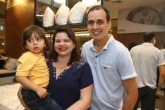 Davi Duarte, Michely Duarte e Charles Duarte