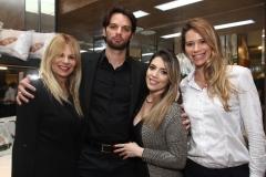 Patricia Iglesias, Andre Coutinho, Nathalia de Albuquerque e Mirella Iglesias